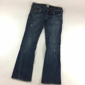 True Religion Jeans Sz 27 Joey Twisted Flare Leg